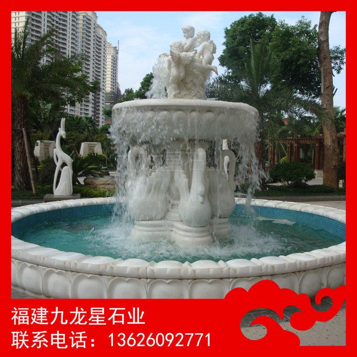 欧式喷泉雕塑 园林石雕喷泉厂家
