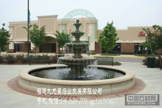 锈石水钵 喷泉景观雕刻