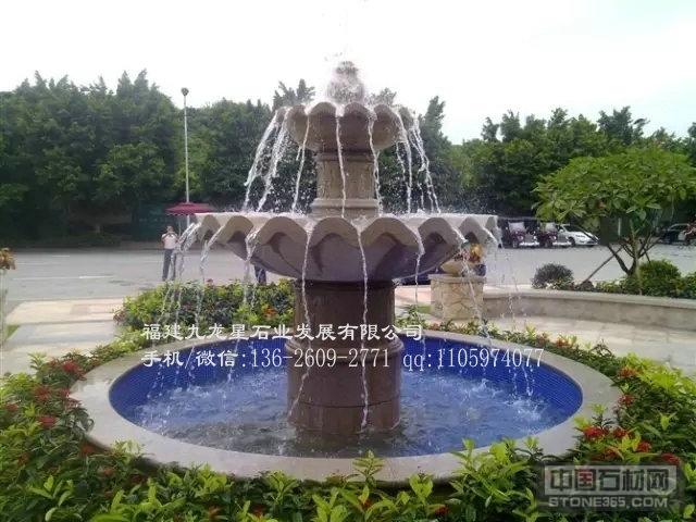 景观石雕水钵 市政水钵工程