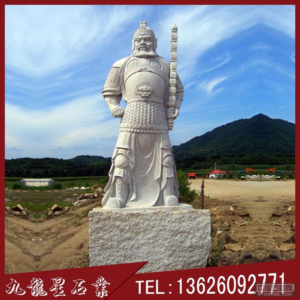 花岗岩石雕韦驮寺庙仿古人物雕像
