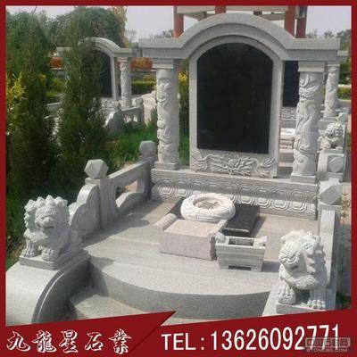 黑墓碑制作厂家 福建墓碑石雕刻