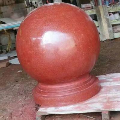 中国红异形石