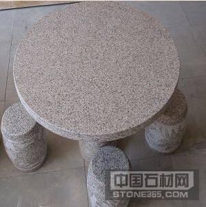 芝麻白石桌