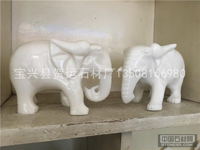 四川汉白玉动物雕刻