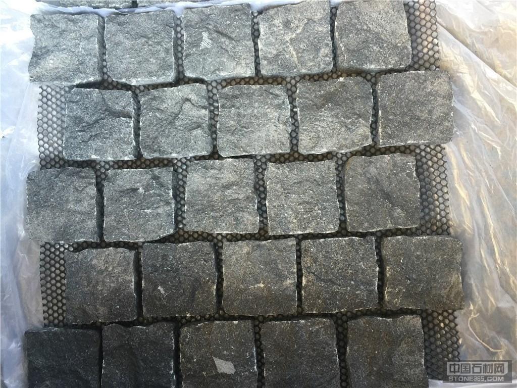 G684福鼎黑网粘面石材料