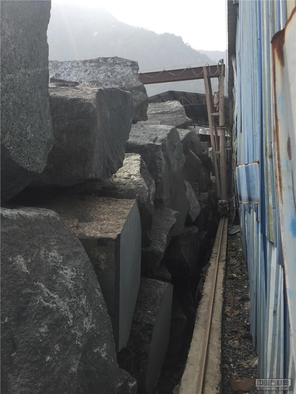 供福鼎黑G684大板矿山石材料