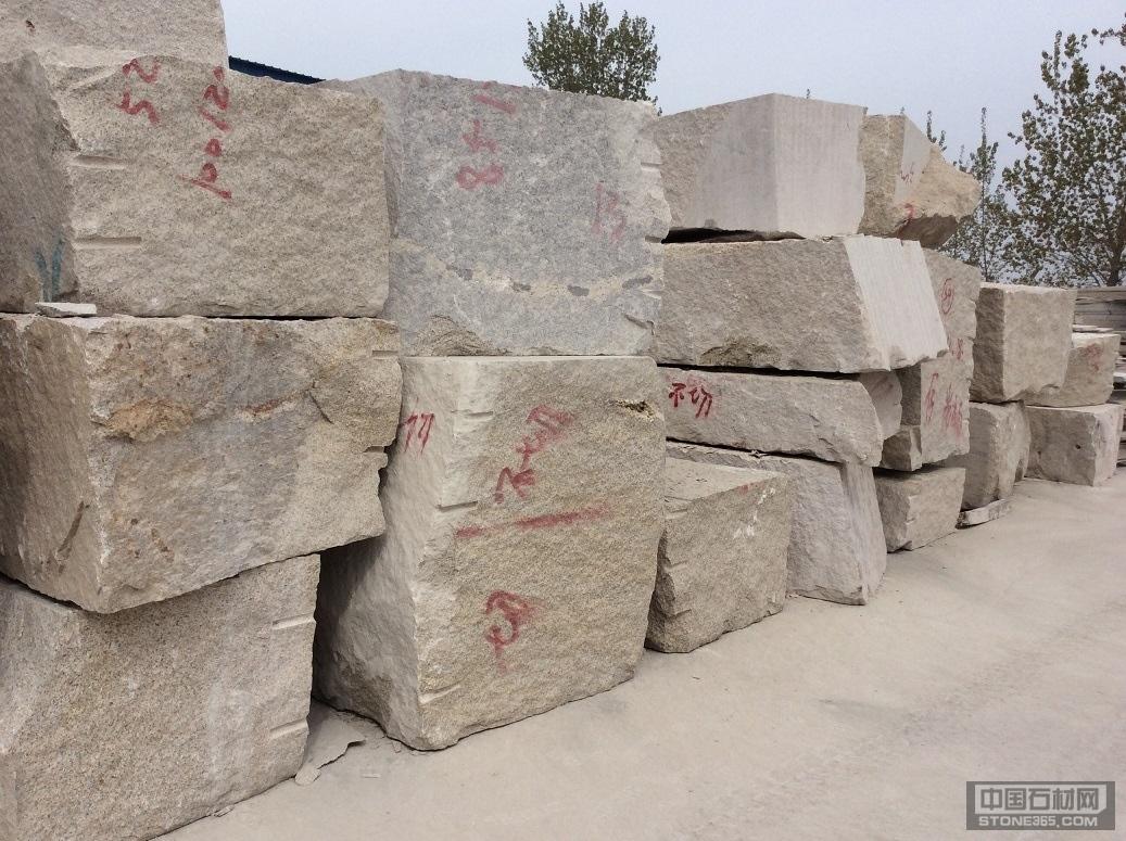 山东锈石荒料