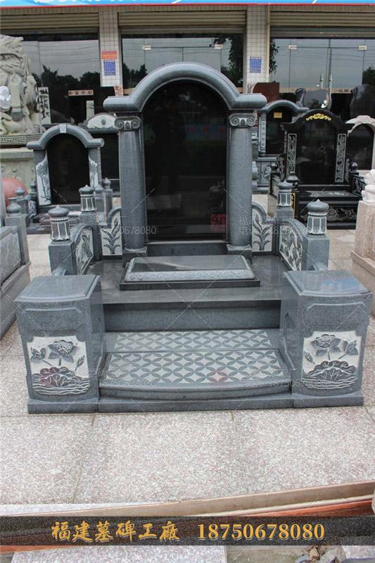 直销石雕墓碑雕刻 大理石家族