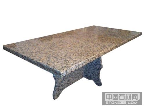 金钻玛异形石桌