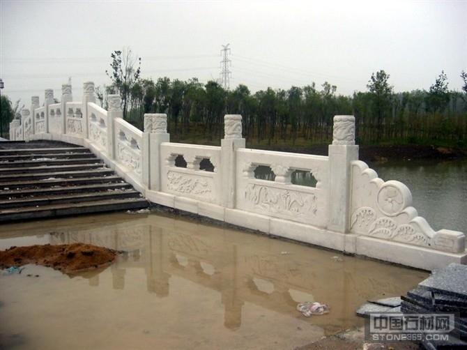 石材雕刻桥栏杆 大理石汉白玉石