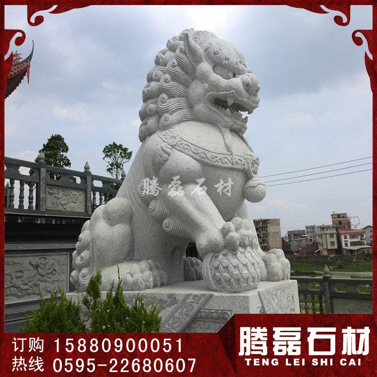 石雕狮子价格 狮子石雕像 腾磊