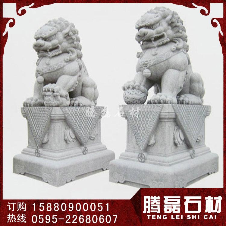 狮子石雕图片 石雕狮子现货
