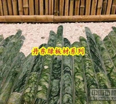 供应丹东绿竹节 竹节板画