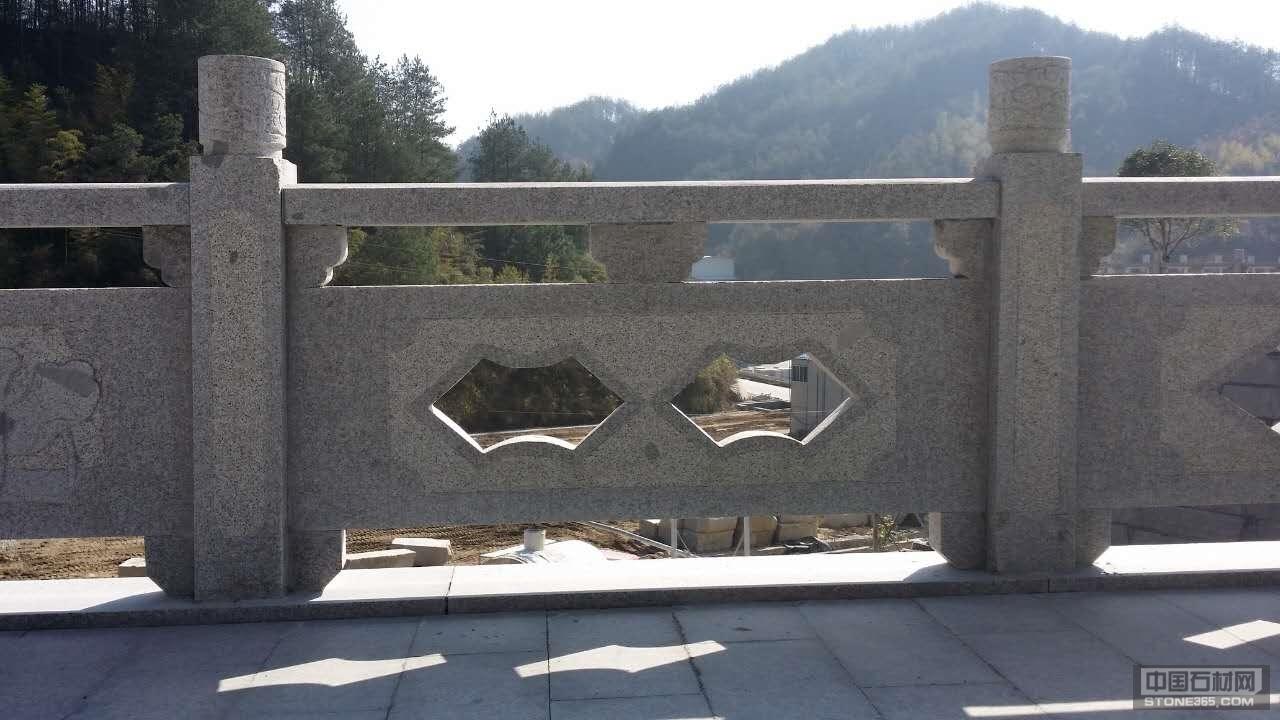 遂昌红栏杆雕刻