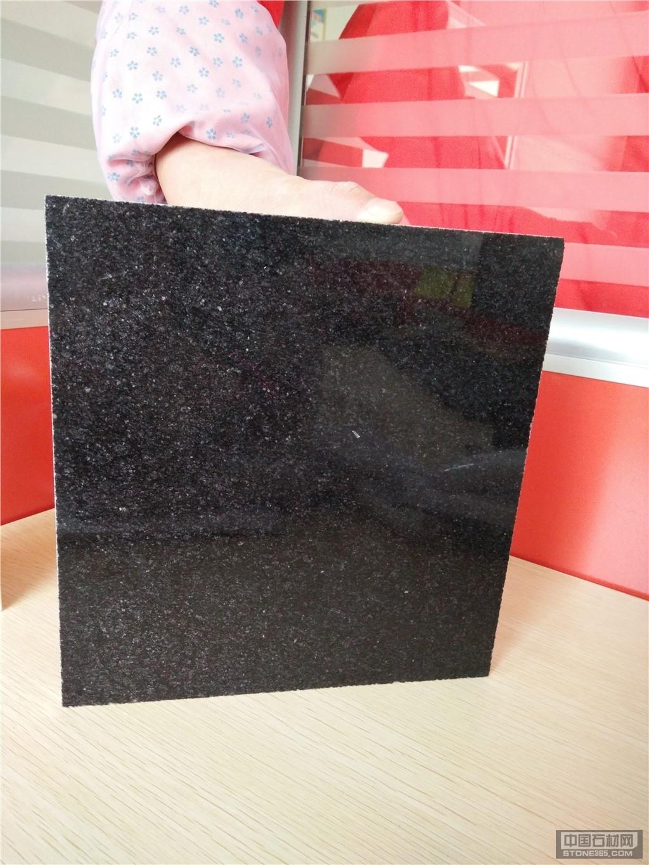 黑色染板中国黑外墙干挂黑色花岗