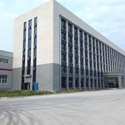 洛阳市办公大楼珍珠灰光面干挂