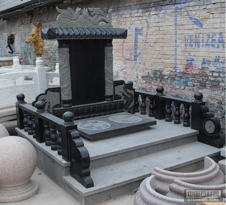 提供中国黑墓碑汉白玉墓碑大理石