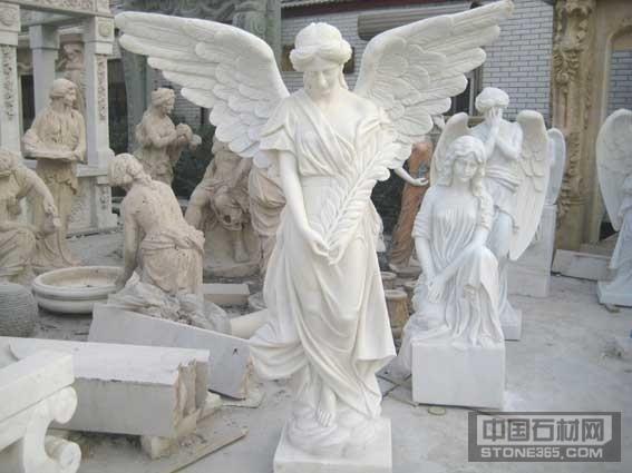 石雕汉白玉西方人物雕塑加工