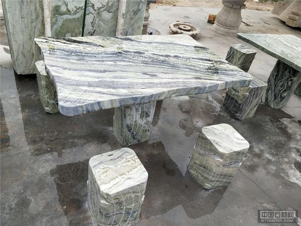花岗岩桌子汉白玉桌子加工定制
