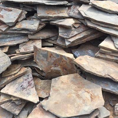 板巖文化石 銹板亂形 護坡片石
