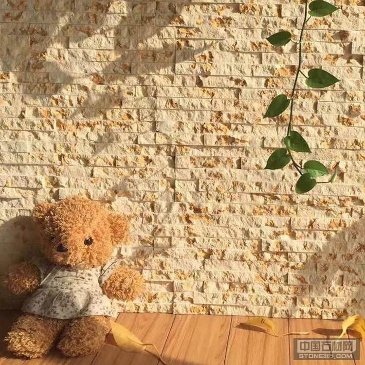 金碧辉煌文化石 大理石 背景墙