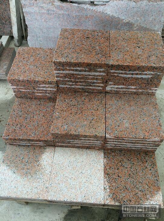 供应枫叶红花岗岩G562地铺板