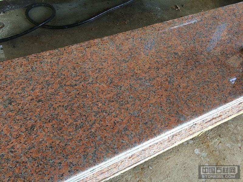 武夷山岑溪红石材产地直销毛光板
