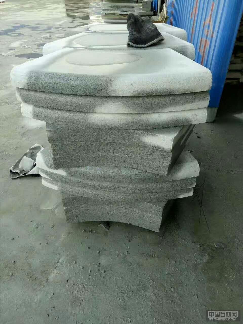 河南芝麻白石材异形加工