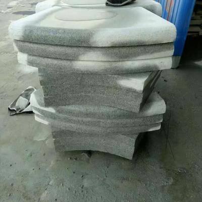 河南芝麻白石材異形加工