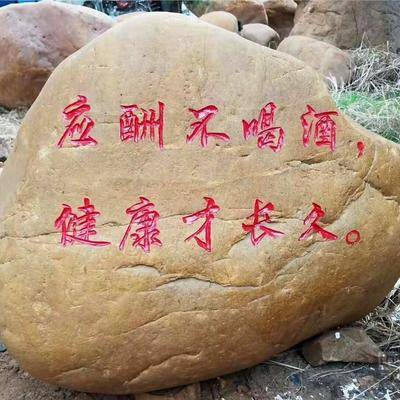 风景石1南通黄蜡石雕刻价格