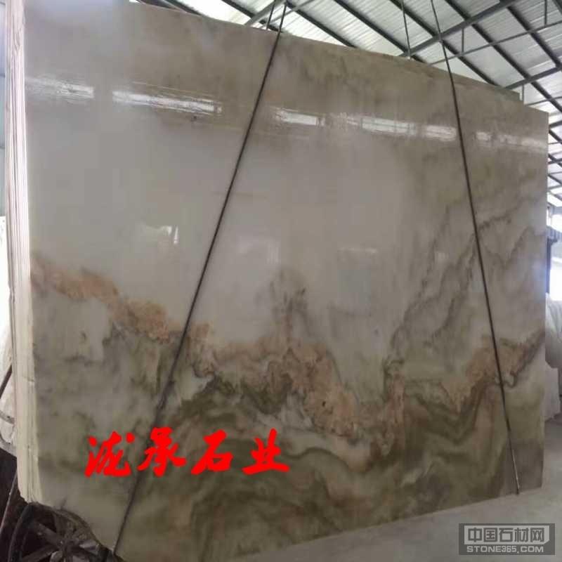 四川汉白玉山水画