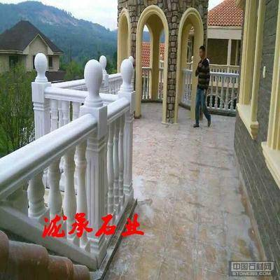 四川汉白玉栏杆1