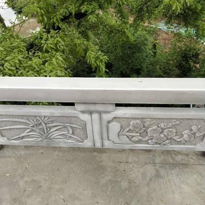 青石栏杆雕刻