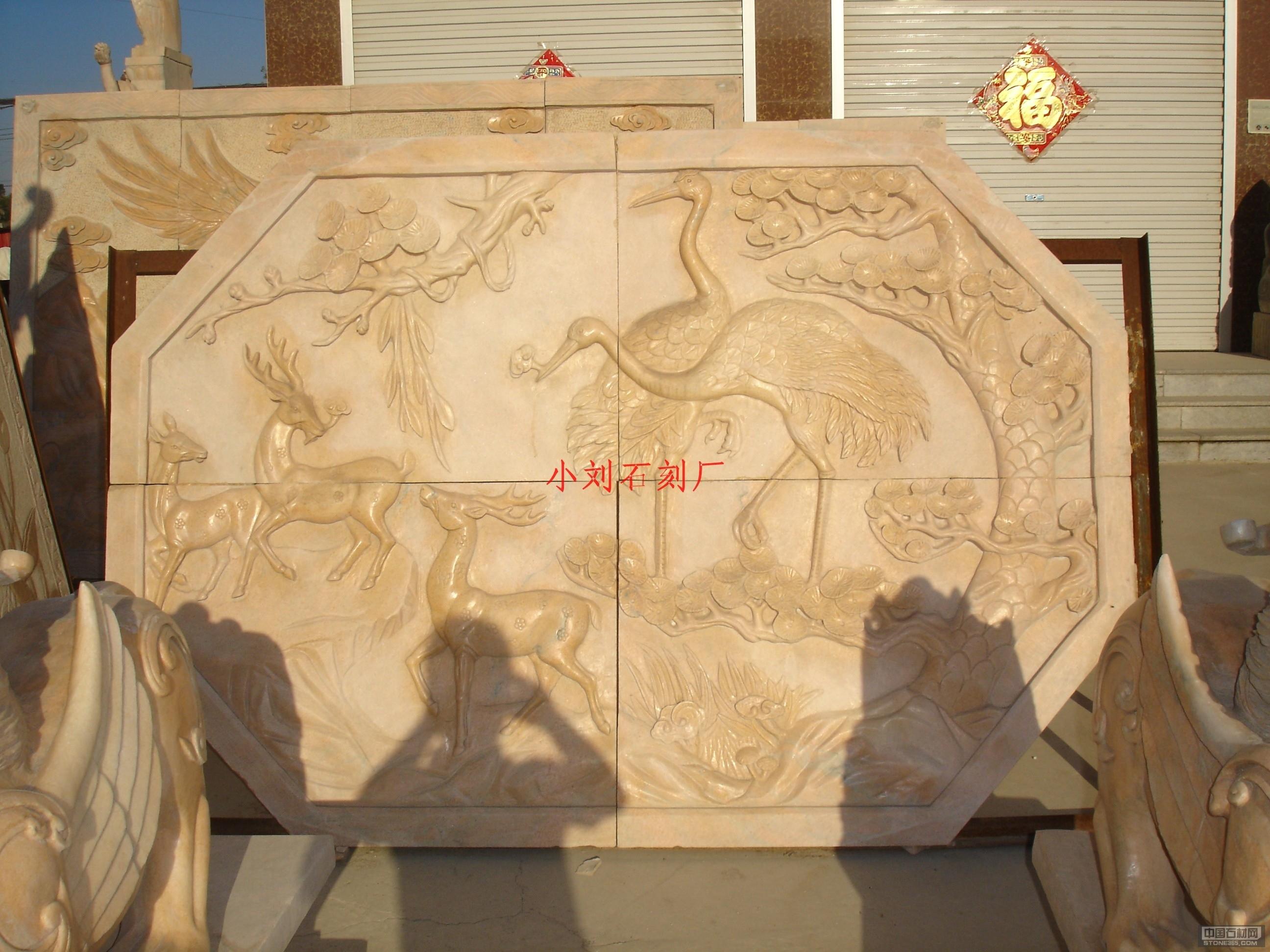 石材雕刻背景墙