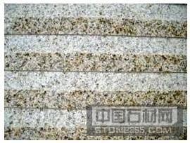 黄锈石盲道板