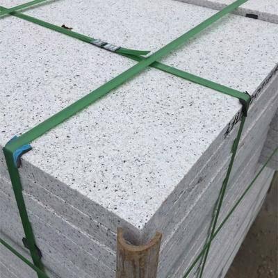 花岗岩芝麻白荔枝面板材
