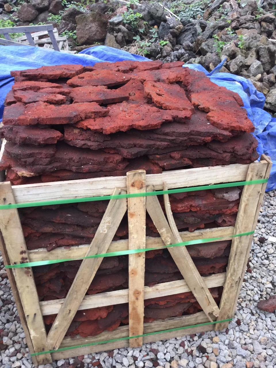 海南火山岩石材乱形碎拼
