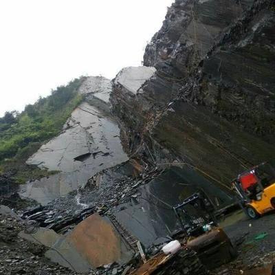 星子县锈石板岩矿