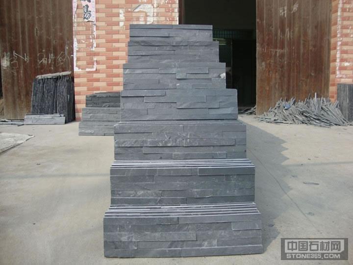 江西黑色板岩文化石