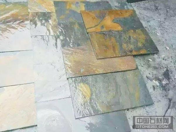 江西青石锈石板