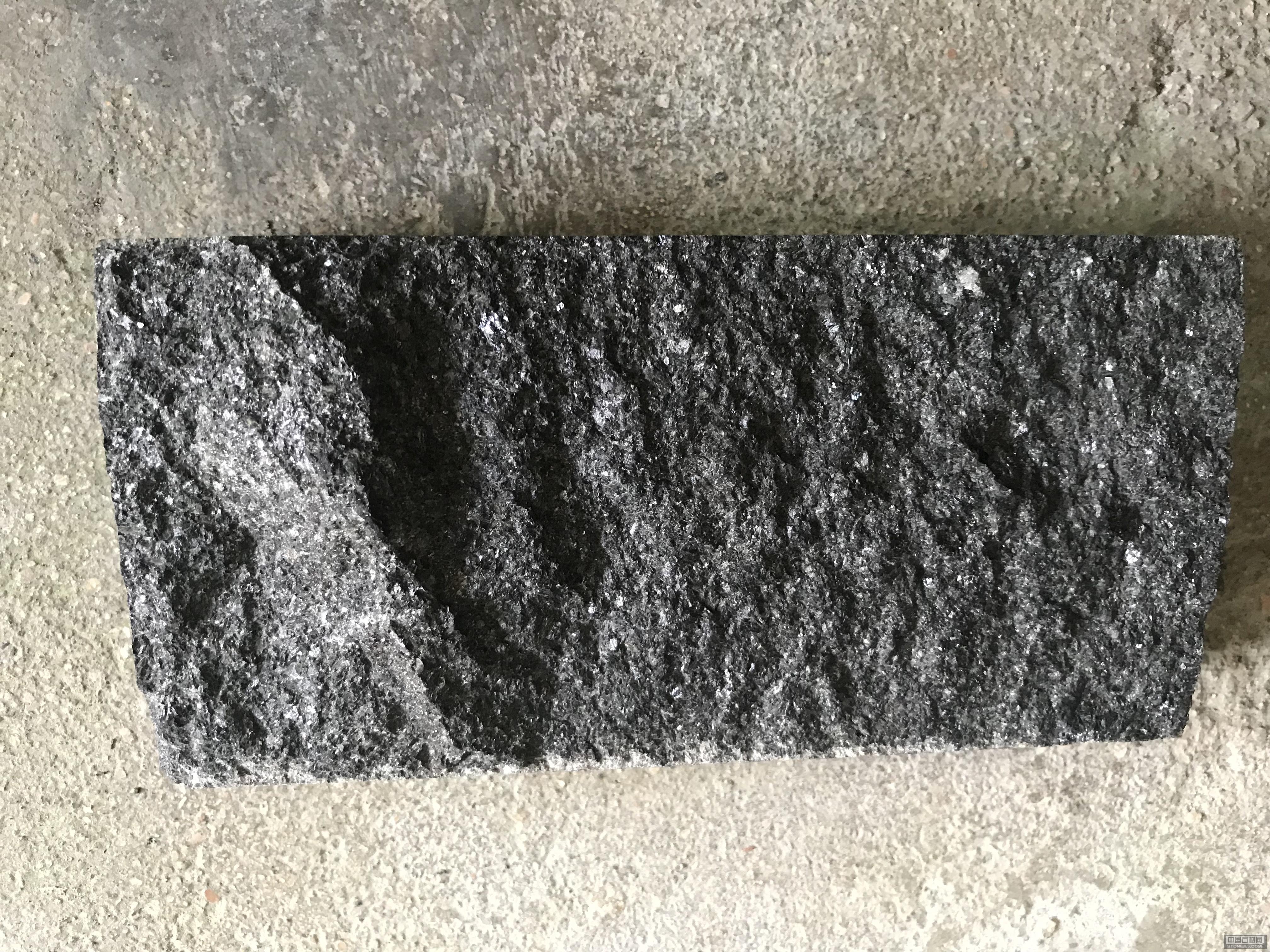 黑金沙自然面石材