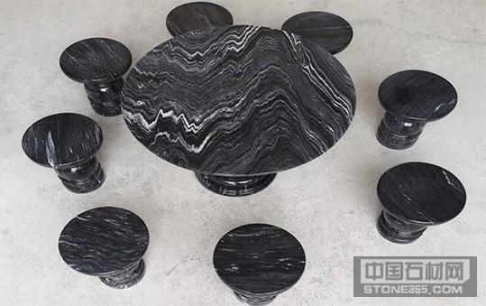 广西黑石桌凳