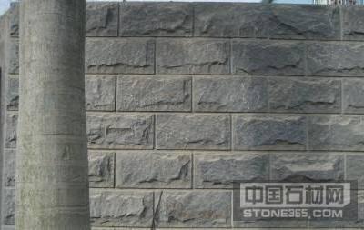 蘑菇石自然面外墙