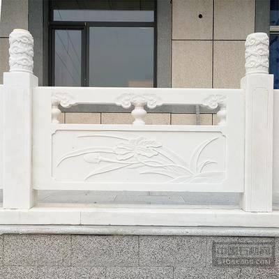 汉白玉栏杆大理石栏板青石护栏