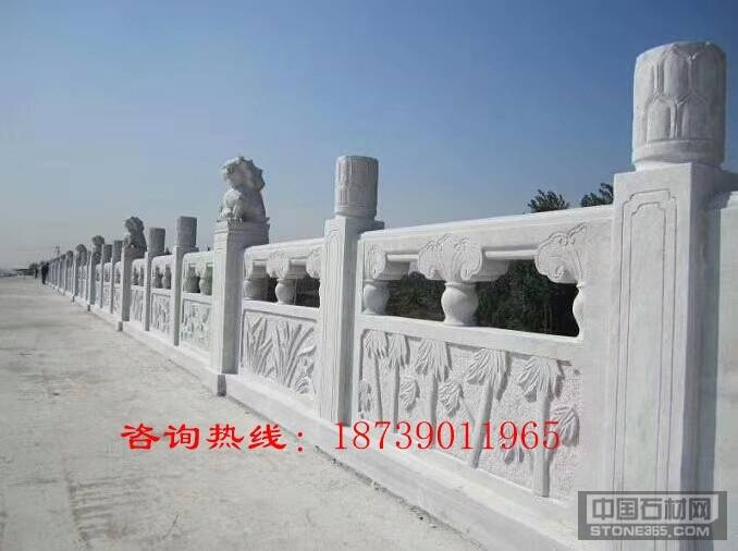 寺庙石雕栏杆,大理石浮雕栏杆