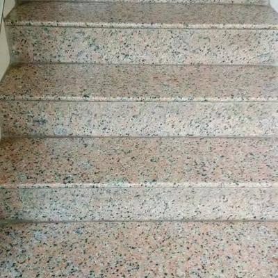 粉红麻楼梯踏板