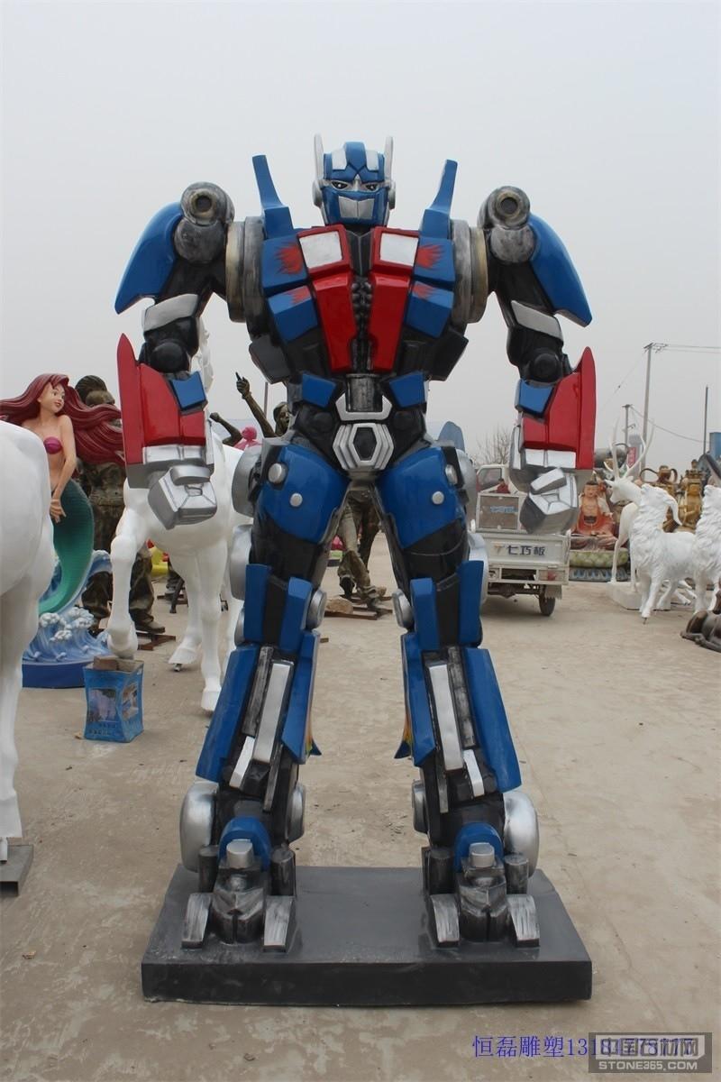 供应不锈钢机器人雕塑的厂家