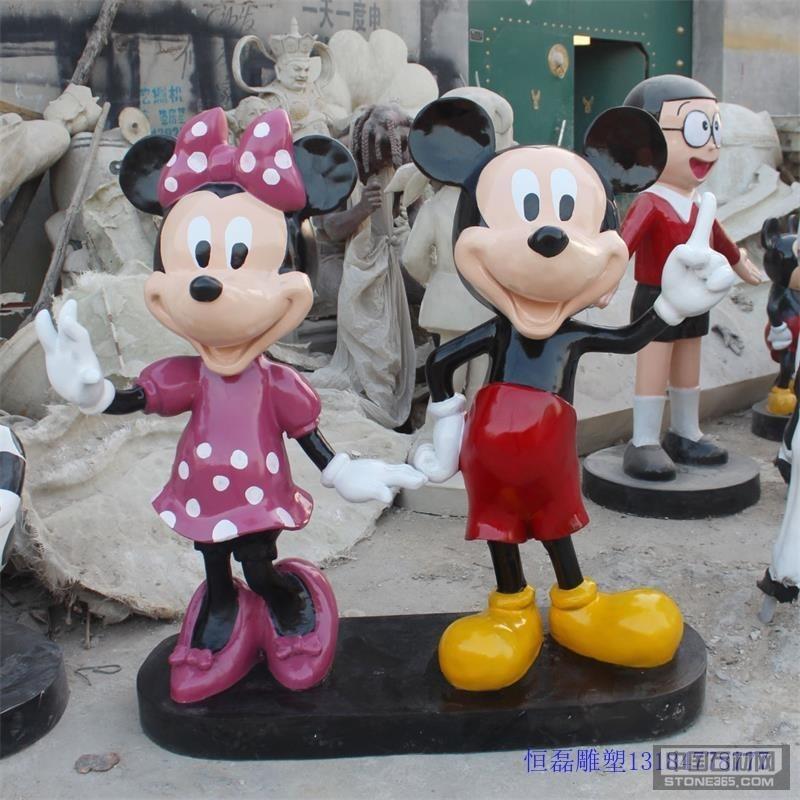 供应玻璃钢卡通米奇雕塑的厂家