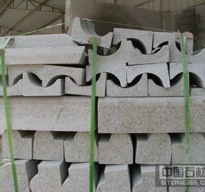 山东黄锈石异型