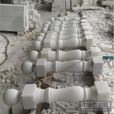 汉白玉阳台柱子